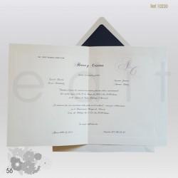 Invitación boda 10220