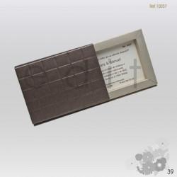 invitación caja chocolate...