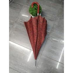 paraguas largo granate 407