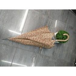 paraguas largo beig 407