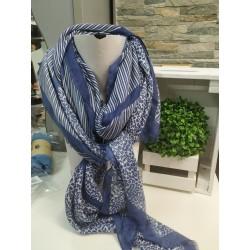Pañuelo fular azul YF5187