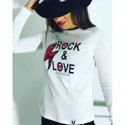 CAMISETA ROCK & LOVE TALLAS...